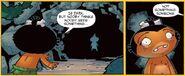 Issue 8 comic panels