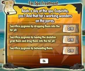 Tar Spa Treatment