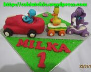 Pocoyo-miniature-cake ride