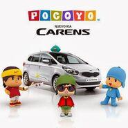 Pocoyo (2) kia cars