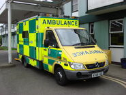 East of England emergency ambulance