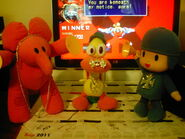 Pocoyo pato and ellys jewelry by porygon2z-d49fb5h drum