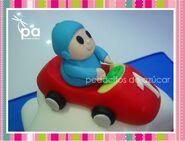 Pocoyo coche 2 racing car
