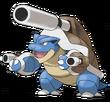 009 Blastoise Mega Art