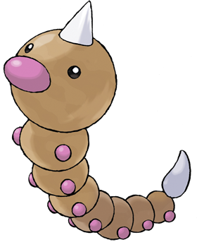 File:013 Weedle Art.png