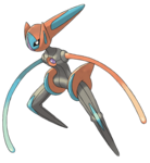 386 Deoxys Speed Forme Art