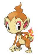 390 Chimchar Art