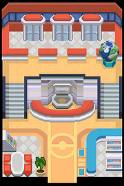 Indoor pokemon center