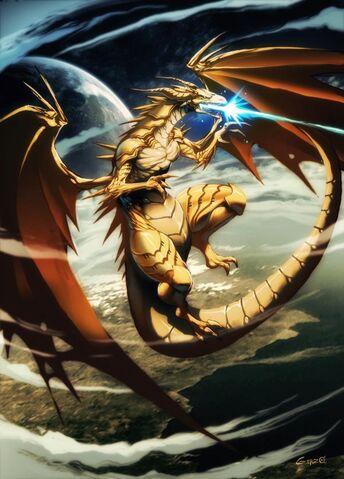 File:Golden Dragon by GENZOMAN.jpg