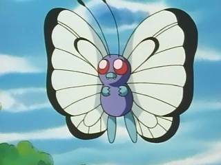 Ash's Butterfree