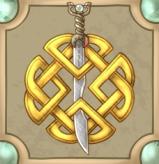 Bran Badge Display