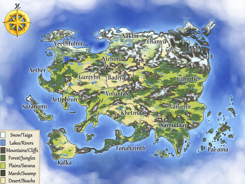 The Continent of Avalon