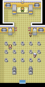 Vermillion Gym Map