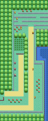 Kanto Route 14 Map
