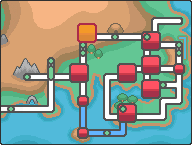 Kanto Pewter City Map