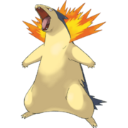 Pokemon Typhlosion