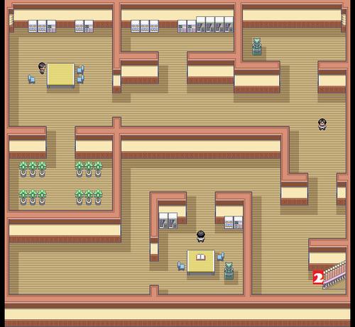 Kanto Pokémon Mansion F0 Map