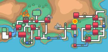 ViridianForest map