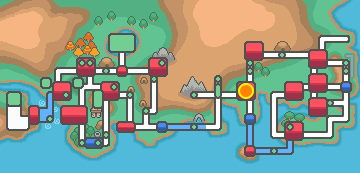 Viridian City map