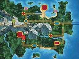 Route 2 - Owten's Nook Map
