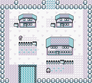 Map of Pallet Town