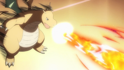 Lance Dragonite Flamethrower Generations
