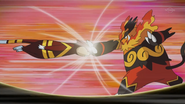 Bianca Emboar Arm Thrust