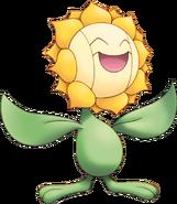 192Sunflora Pokemon Mystery Dungeon Explorers of Sky