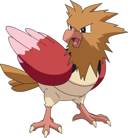 File:021Spearow AG anime.png
