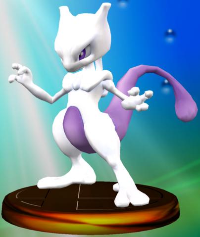 File:Mewtwo trophy SSBM.png