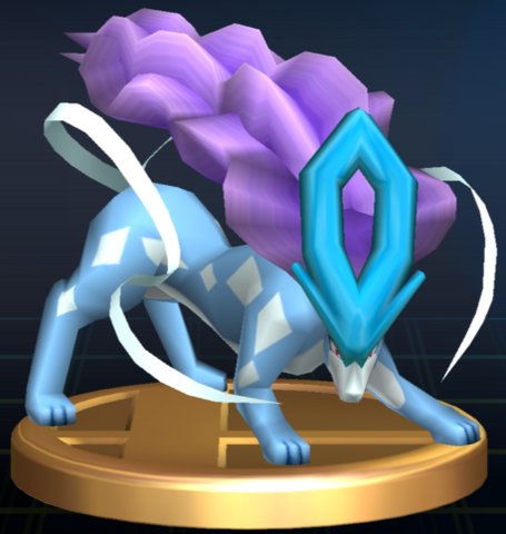 File:Suicune trophy SSBB.png
