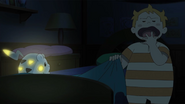 Sophocles going to sleep