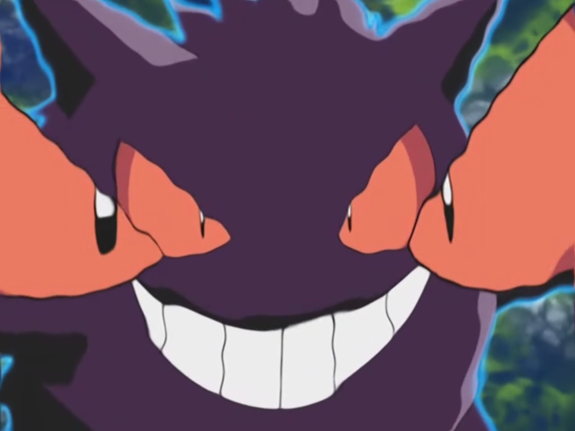 How do you teach hypnosis to Gengar in Pokemon platinum?