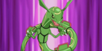 Dream Cynthia's Rayquaza
