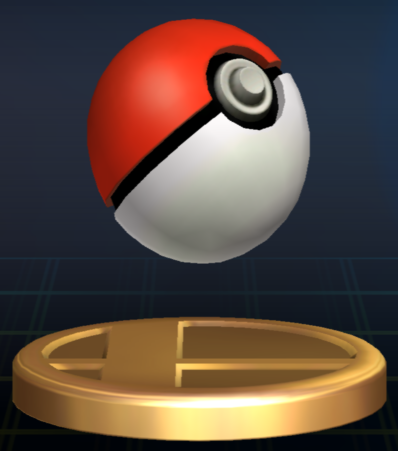 File:Poké Ball trophy SSBB.png