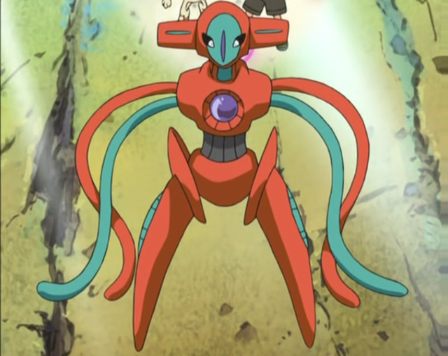 Deoxys Anime Pok 233 Mon Wiki Fandom Powered By Wikia