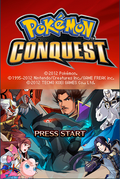 Pokemon Conquest Opening
