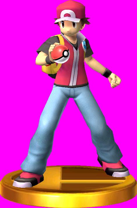 Pokémon Trainer trophy SSB3DS