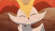 Serena braixen smiles