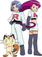 Team Rocket BW
