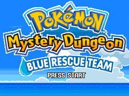 File:Pokémon Mystery Dungeon Blue Rescue Team Title Screen.png