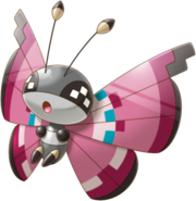 666Vivillon Pokemon Rumble World