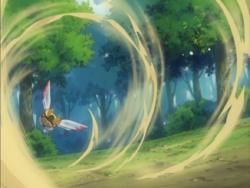 Evian Ninjask Sand Attack