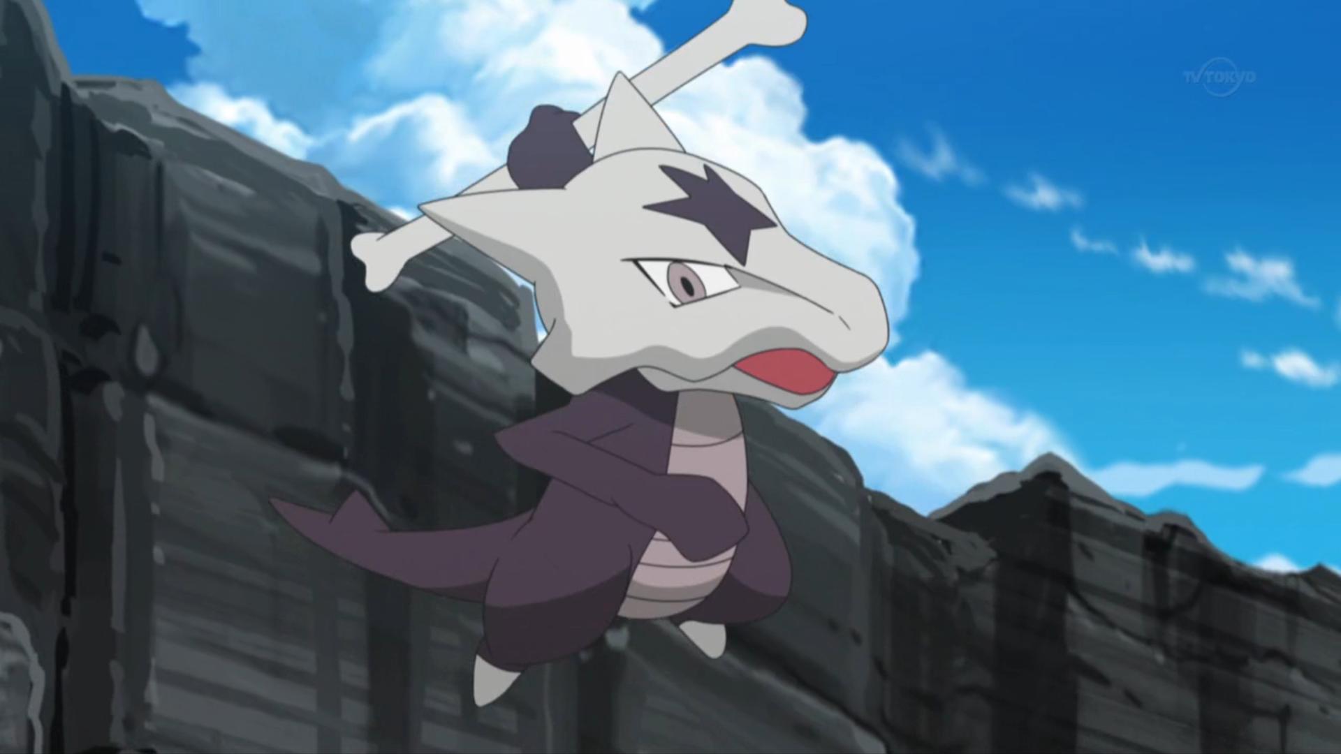 Kiawe Marowak anime