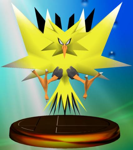 File:Zapdos trophy SSBM.png