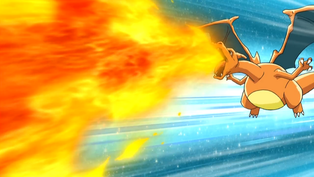 File:Ash Charizard Flamethrower.png