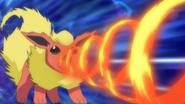 Ursula Flareon Fire Spin