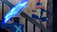 Ninja Riot Greninja Water Shuriken