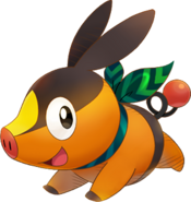 498Tepig Pokémon Super Mystery Dungeon