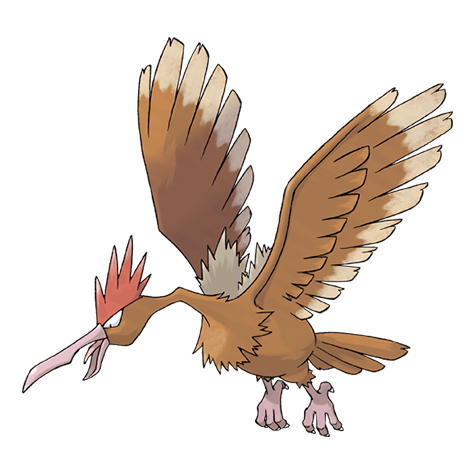 Fearow Pok 233 Mon Wiki Fandom Powered By Wikia